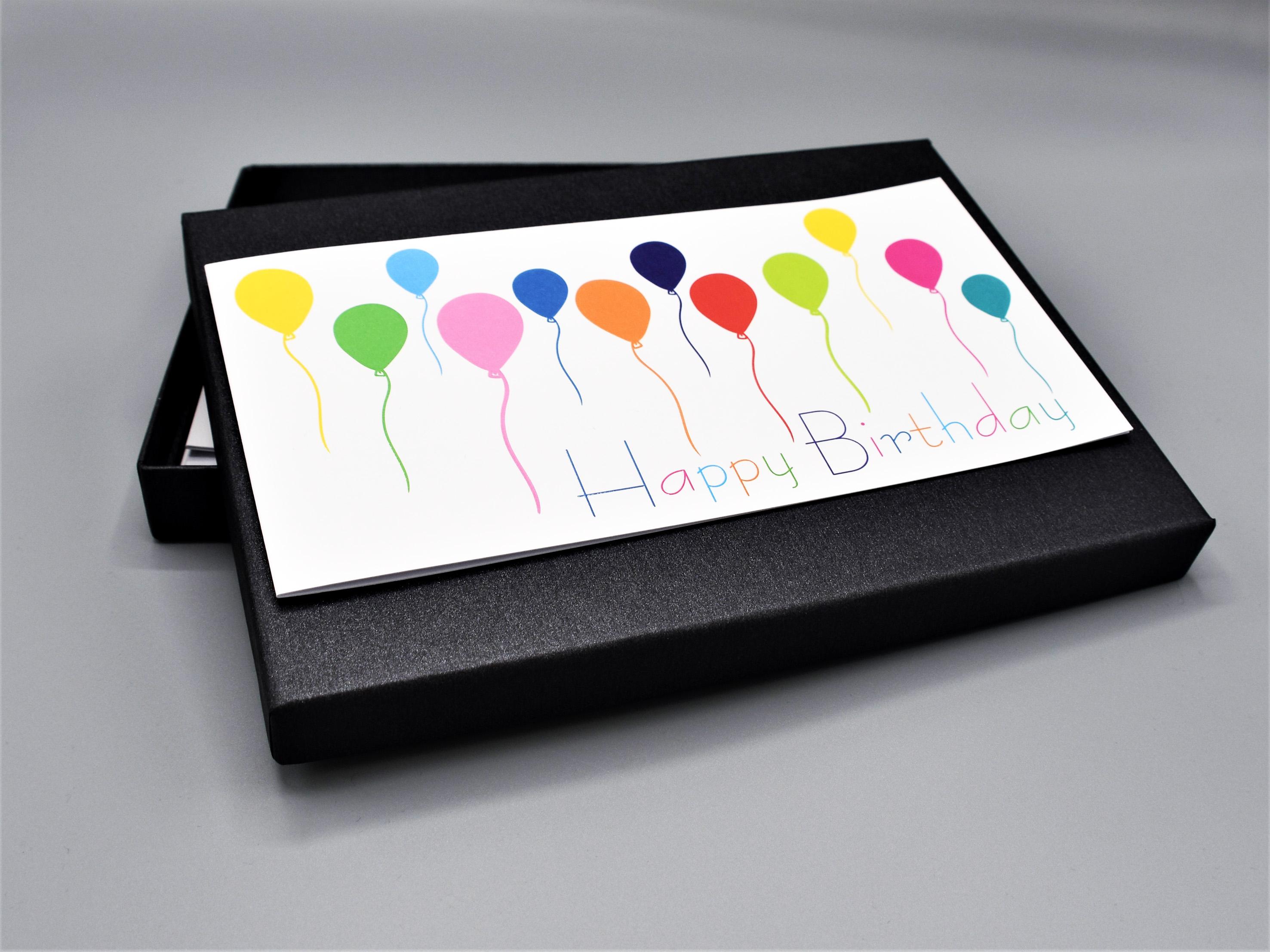 artoz-pure-box-din-A5_black-glow_Happy-Birthday_schwarz_grusskarten-design7