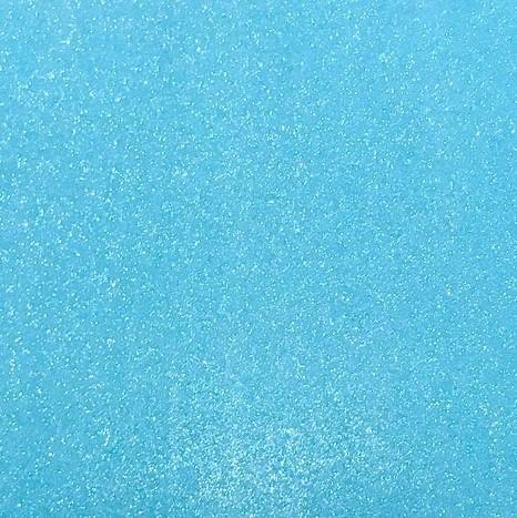 GLITTER PAPIER BLAU (Neon) artoz A4 (1 Bogen), selbstklebend