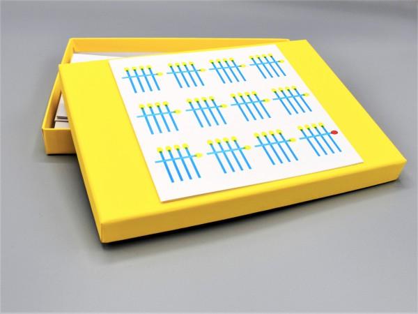 artoz-pure-box-din-A5_gelb_sonnengelb_Geburtstagskarte-zum-60-grusskarten-design