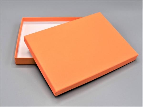 IN ORANGE A6: Stabile Schachtel mit Deckel als Geschenkbox o. Fotobox - original artoz PURE Box