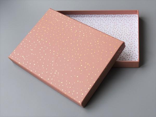 ALTROSA -GOLD: Stabile Schachtel mit Deckel als Geschenkbox oder Fotobox - original artoz- PURE Box