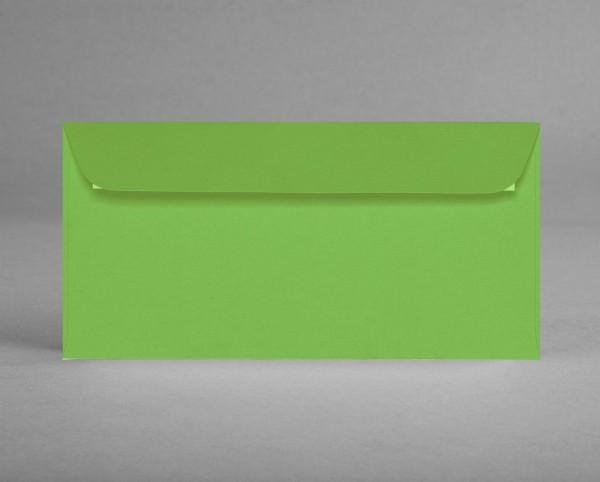 5 original Artoz Kuverts in maigrün, C6, DIN lang, ohne Sichtfenster (Set)