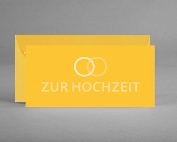 TRENDIG GLAMOURÖS MIT GLITZERSILBER: Glückwunschkarte zur Hochzeit oder Silberhochzeit inkl. Kuvert