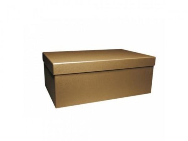 NACHHALTIG: PURE BOX L IN KRAFTPAPIER mit Deckel im Format L 280 × 173 × 108 mm von artoz