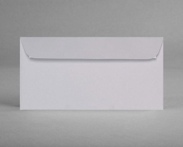 5 original Artoz Kuverts in lichtgrau C6, DIN lang, ohne Sichtfenster (Set)