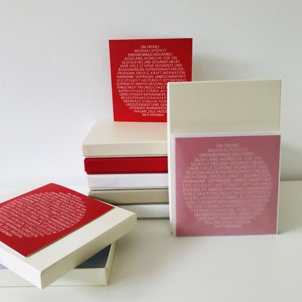 In ivory: Stabile Schachtel mit Deckel als Geschenkbox oder Fotobox - original artoz PURE Box A5