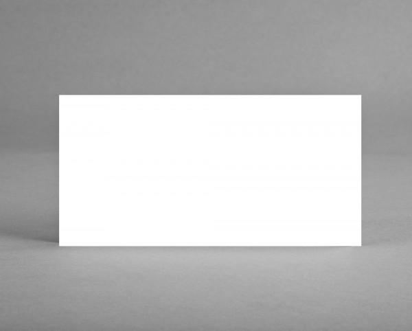 EINLEGER OFFSETKARTON für Klappkarten in DIN lang Set (5 Stück)