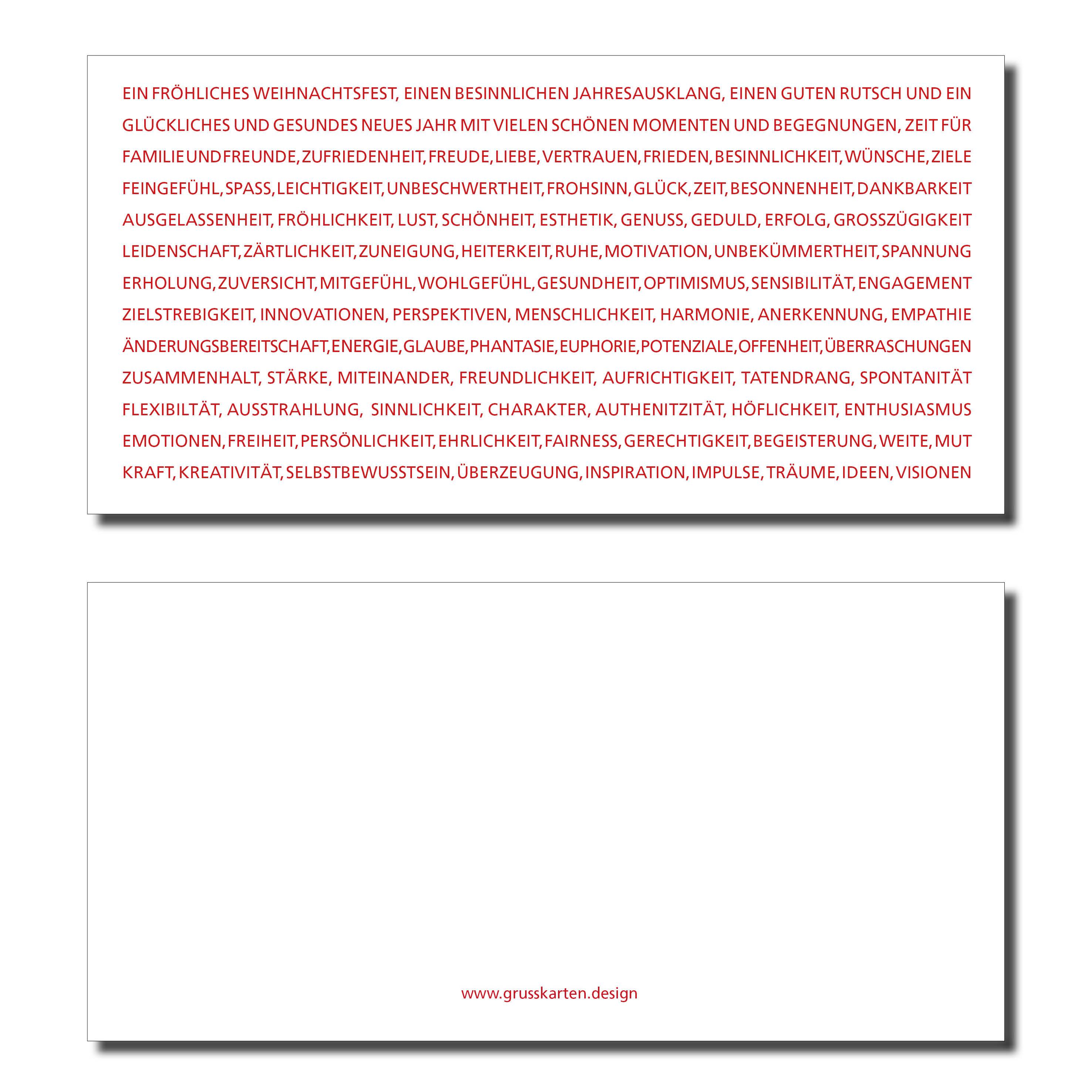Ideen F303274r Weihnachtskarten.Anregend Weihnachtskarte Ein Frohliches Weihnachtsfest Inkl Kuvert Und Versand