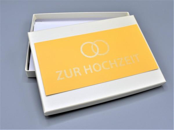 """10 kreative Grußkarten in der artoz Pure Box A5 in elfenbein """"ivory"""" """"Begleiter durch das Jahr 1"""""""