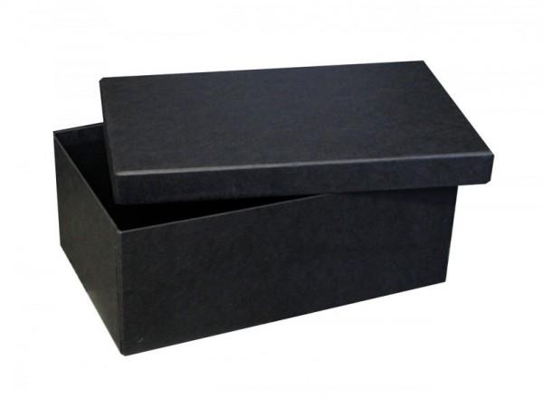 EDEL: PURE BOX L IN SCHWARZ mit Deckel im Format L 280 × 173 × 108 mm von artoz