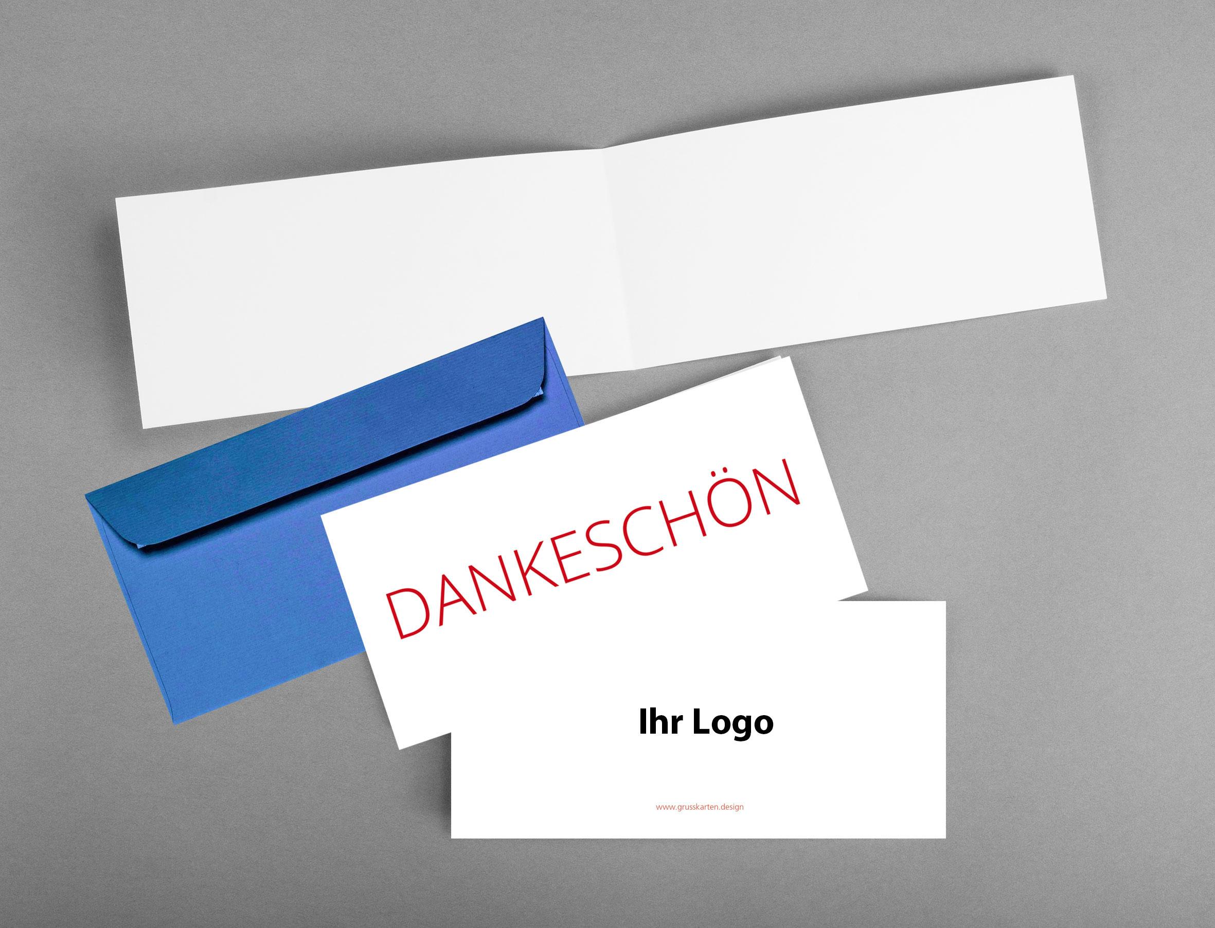 Firmengrusskarte-mit-Logo_Dankekarte_Dankschoen_weiss_grusskarten