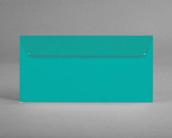 """5 original Artoz Kuverts, grün """"tropical green"""", C6, DIN lang, ohne Sichtfenster (Set)"""