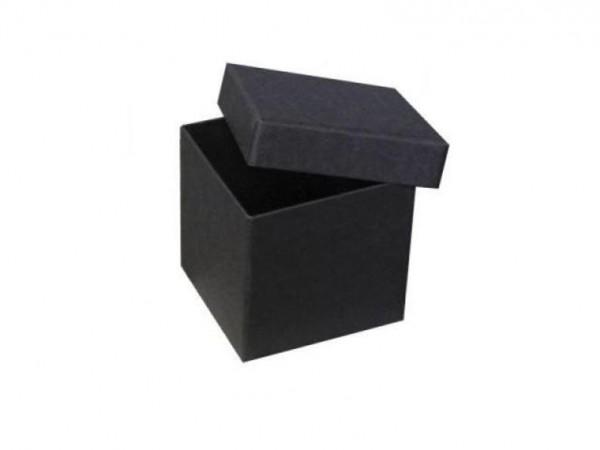 IN SCHWARZ: PURE BOX XS mit Deckel im Format 72x72x68 mm von artoz
