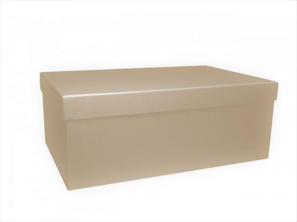 AUSVERKAUFT: NACHHALTIG: PURE BOX L IN DESERT mit Deckel im Format L 280 × 173 × 108 mm von artoz