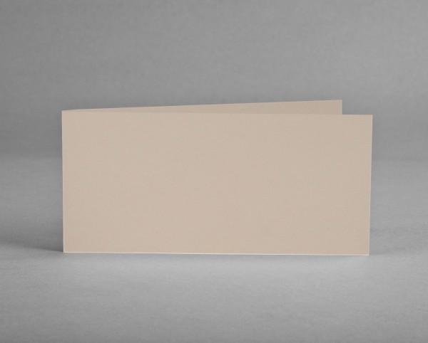 5 BLANKO KLAPPKARTEN FLORETTA SKIN LIGHT von artoz (5 Stück)