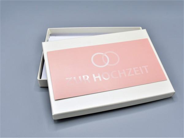 """10 moderne Grußkarten in der artoz Pure Box A5 in elfenbein """"ivory"""" Begleiter durch das Jahr 3"""""""
